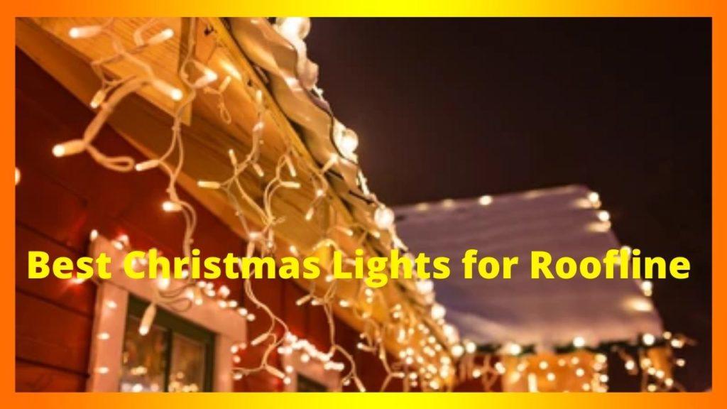 Best Christmas Lights for Roofline
