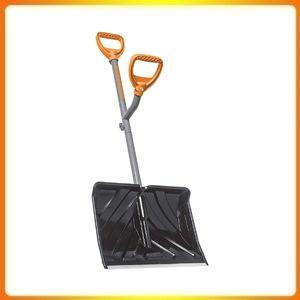 ErgieShovel ERG-SNSH18 Steel Shaft Snow Shovel