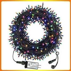 Haili 105ft 300 LED Christmas Tree Lights