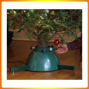 Elf Logic Rotating Christmas Tree Stand for Live Tree with Remote