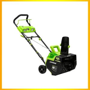 Earthwise SN74018 Cordless Electric 40-Volt Snow Thrower